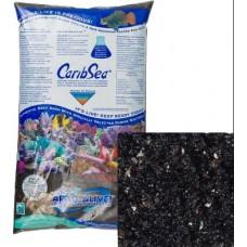 CaribSea Hawaiian Black Reef Sand живой песок 9 кг черный