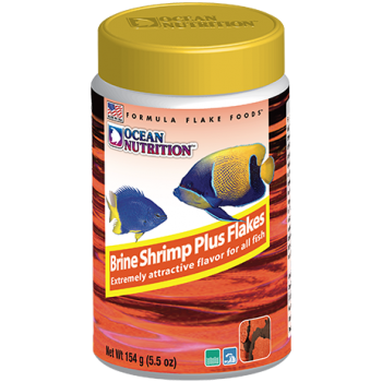 Ocean Nutrition Brine shrimp plus Flakes 156 г