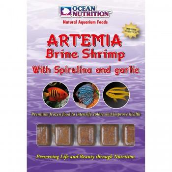 Ocean Nutrition Artemia Brine Shrimp with spirulina and  garlic 100 г.